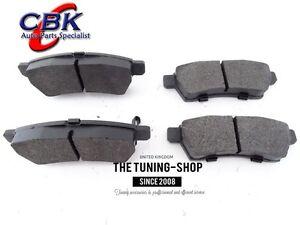 Rear Brake Pads D CBK For ACURA TL HONDA RIDGELINE - Acura tl brake pads