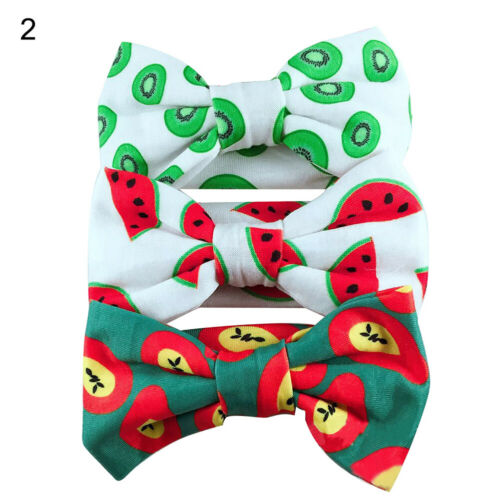 CW/_ 3Pcs Kids Baby Girls Lovely Bowknot Headband Elastic Hair Band Headwear Nove