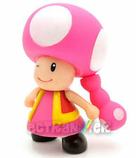 "Super Mario 4"" TOADETTE Poseable Figure Doll/MS228"