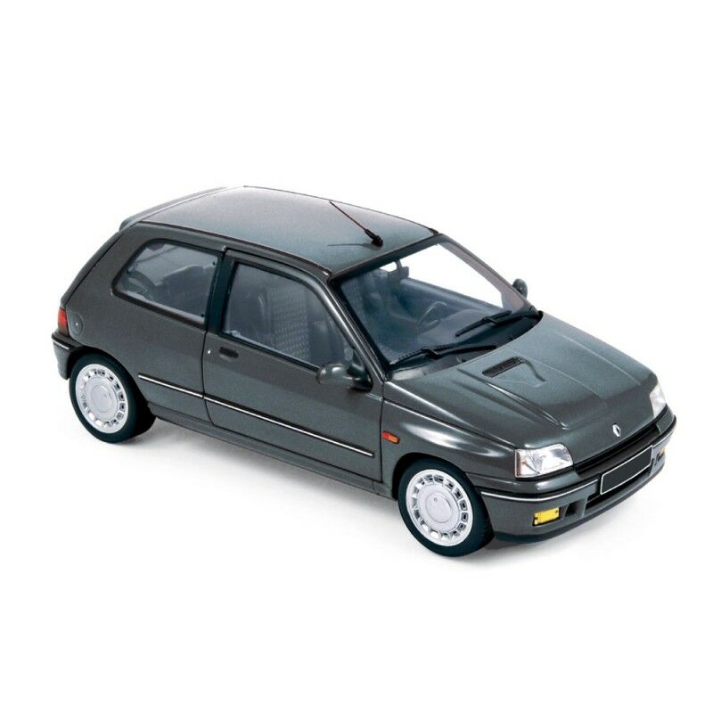 Norev 185230 1852 34 RENAULT CLIO Modello Diecast Auto STRADALE 93 Blu/Grigio 91 1:18
