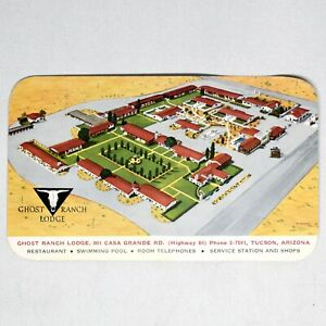 Ghost-Ranch-Lodge-Tucson-Arizona-Vintage-Postcard-Unposted