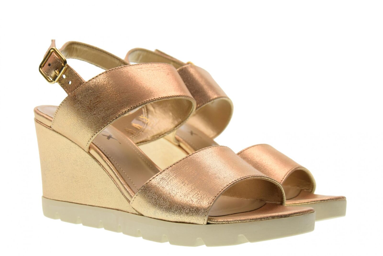 The Flexx Womens shoes Wedge Sandals b606_38 julielot gold p18g