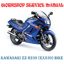 kawasaki f11 250 workshop manual ebay rh ebay co uk JVC GZ EX250 Manual EX250 Controls