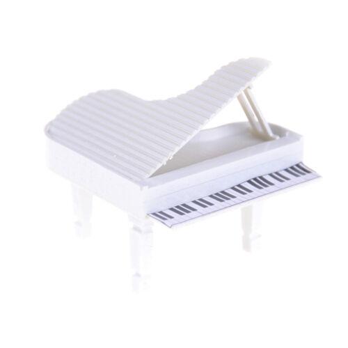 Dollhouse Miniature Piano Micro Landscape Decor Toy Sand Table Model ~