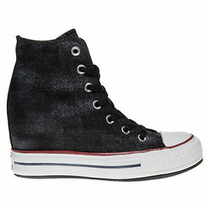31a90c44774 Converse Chuck Taylor® All Star® CT Platform Plus Hi Black 545037C ...