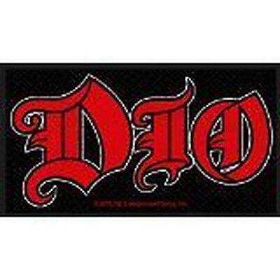 Dio -  Red Logo [Patch/Aufnäher, gewebt] [SP2680]Dio Aufnäher !!