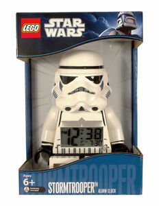 Lego Star Wars Stormtrooper Multi-function Desktop Alarm Clock 9002137