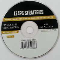 Audio Cd: Leaps Strategies With Jon Najarian 1 Disc