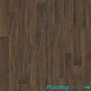 Dark Oak Wood Effect Vinyl Flooring Kitchen Bathroom Lino Cushion Floor Cheap Ebay