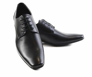 MENS-JULIUS-MARLOW-BRAVE-MEN-S-BLACK-LEATHER-LACE-UP-WORK-FORMAL-DRESS-SHOES