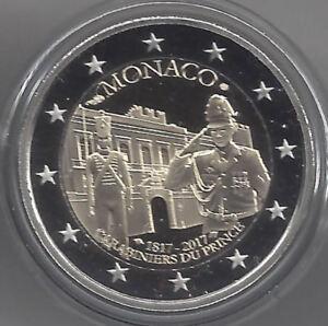 2 Euros 2017 Monaco @@ Compagnie Carabiniers du Prince @@ Certifié