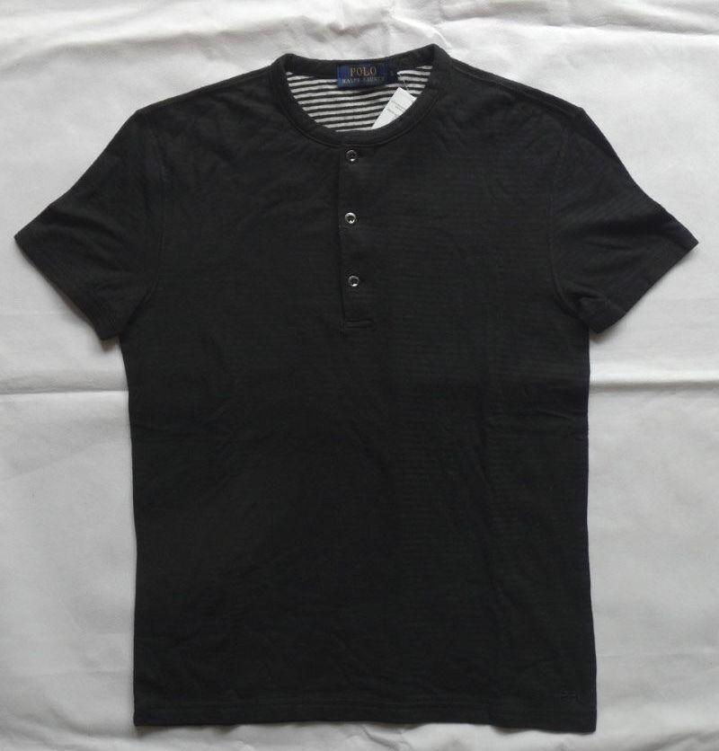 POLO RALPH LAUREN BROOKLYN STRIPE HENLEY T-Shirts Gr S