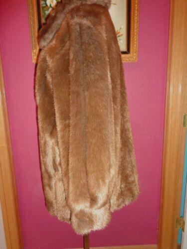 Manteau Dennis en Basso En M magnifique à état parfait similicuir glissière brun faux gqxHOqr5wX