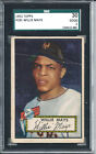 1952 Topps Baseball #261 Willie Mays Rookie Card SGC 30