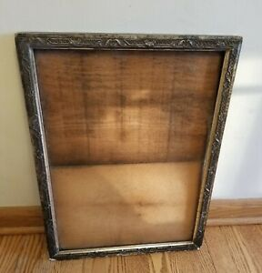 """19/20TH. CENTURY ANTIQUE VICTORIAN WOODEN GESSO FRAME HOLDS 20"""" x 14.5"""" PICTURE"""