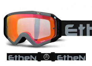 Ethen Maschera Dirt Motocross 05 Zerocinque Mx0543 Frame Nero Lente Clearfog