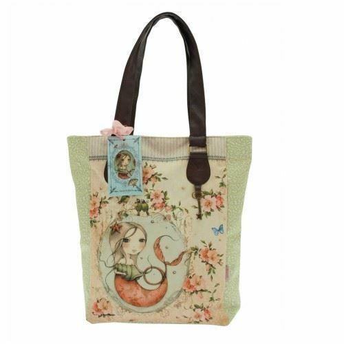 Choice of 3 Designs Santoro /'Mirabelle/' Large Zipped Shopper Bag