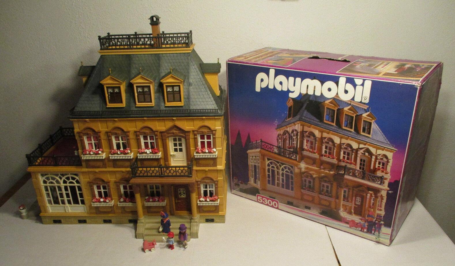 (GM) Nostalgia Casa delle Bambole 5300 ROSA SERIE OVP + BA