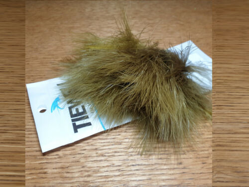 TIEWELL STRUNG MARABOU BLOOD QUILLS NEW FLY TYING FEATHERS TROUTLORE OLIVE