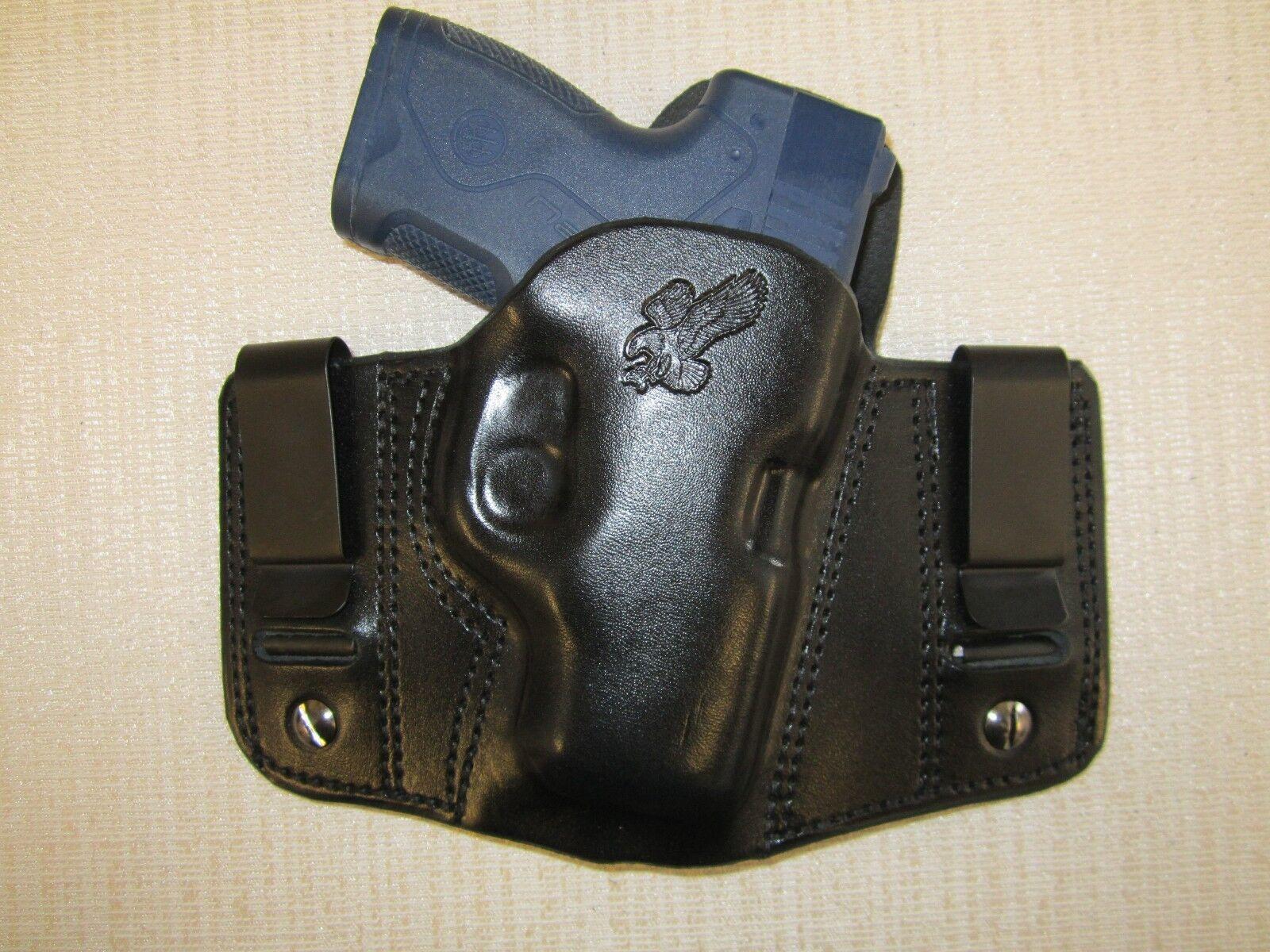 BERETTA NANO,  REVERSIBLE, IWB OR OWB, R H, formed pancake belt holster
