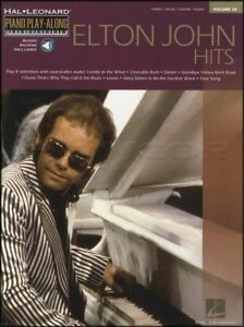 Elton John Hits Piano Play-along Volume 30 Music Book & Backing Tracks Audio-afficher Le Titre D'origine