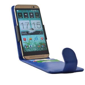 Flip-Clip-Huelle-fuer-ARCHOS-Core-50p-Tasche-Handytasche-Schutzhuelle-Blau