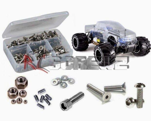 RC ScrewZ RCR043 rossocat Racing Rampage MT V3 Stainless Screw Kit