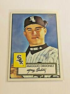 2007-Topps-039-52-Baseball-Debut-Flashbacks-Magglio-Ordonez-Chicago-White-Sox