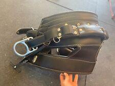 Dbi Sala 4d Leather Lineman Belt 1001397 Black D23