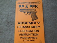 German Pp & Ppk .22lr, 7.65, 9mm Auto Pistol Manual 30 Pages