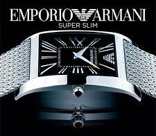 EMPORIO ARMANI MEN'S ROMAN SUPER SLIM COLLECTION WATCH AR2012