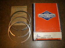 Briggs Amp Stratton Gas Engine Ring Set 299569 New Old Stock Vintage