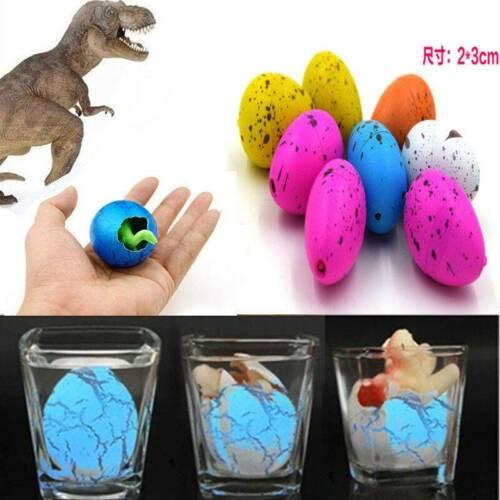 6x Magic Dino Egg Growing Hatching Dinosaur Add Water Kids Fun Inflatable Toys