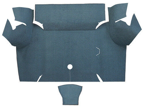 1967-1968 Ford Mustang Trunk Mat Trunk Kit Floor Only Coupe NylonFits