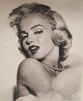 "New Collection Diamond Dust Marilyn Monroe  20""x16"" Canvas"