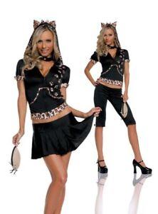 Cat fancy dress dance Leggings Womens Costume