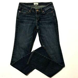 Aeropostale-Womens-Bayla-Skinny-Curvy-Jeans-Size-3-4-Long-Stretch-Blue-Denim
