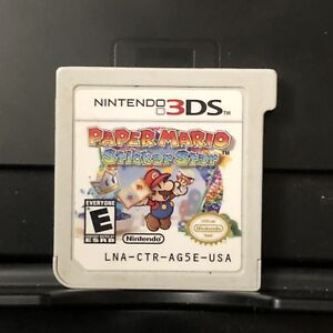 Nintendo-3DS-2DS-Paper-Mario-Sticker-Star-Game-Only