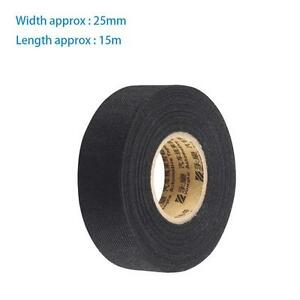 s l300 new universal flannel cloth tape car automobile wiring wire non adhesive wiring harness tape at cos-gaming.co