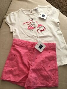 Janie-and-Jack-Girls-2-Piece-Outfit-Size-5-6-New