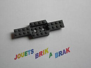 Lego 1 chassis de voiture Car base dark bluish gray 12x4 4x12 x 2//3 ref 52036