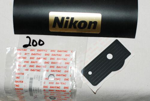 Original Nuevo Nikon D800 Base De Goma pieza de reparación cubierta FREEPOST vendedor Reino Unido