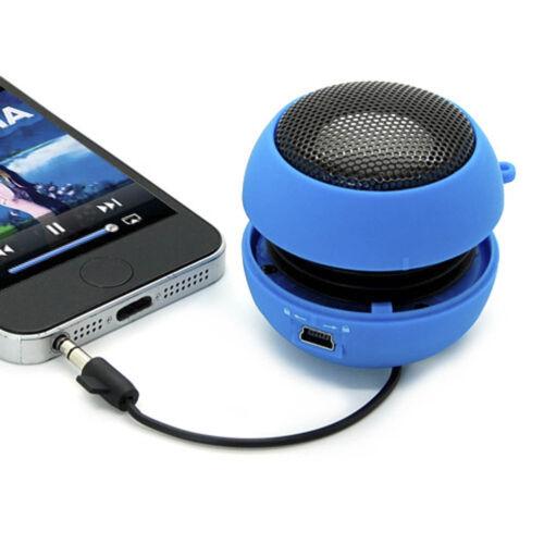 1X Mini Hamburger speaker Travel USB Charging Portable Speaker MP3 Laptop #AM5