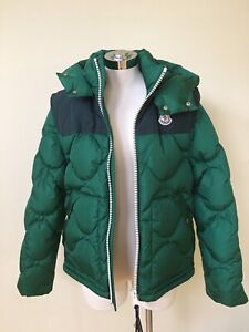 6ffc68ede Details about $1595 NEW MONCLER ARLES GREEN DOWN JACKET VEST DETACHABLE  SLEEVES/HOOD AUTHENTIC
