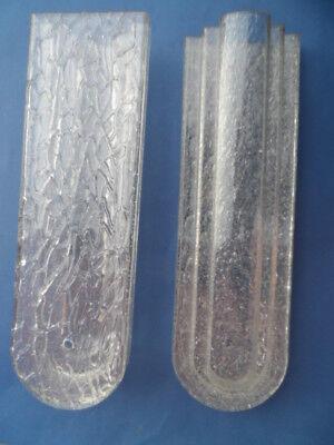 18224 7 Art Deco Bauhaus Glaselemente Deko Laden Wandschmuck Glass Elements 1930