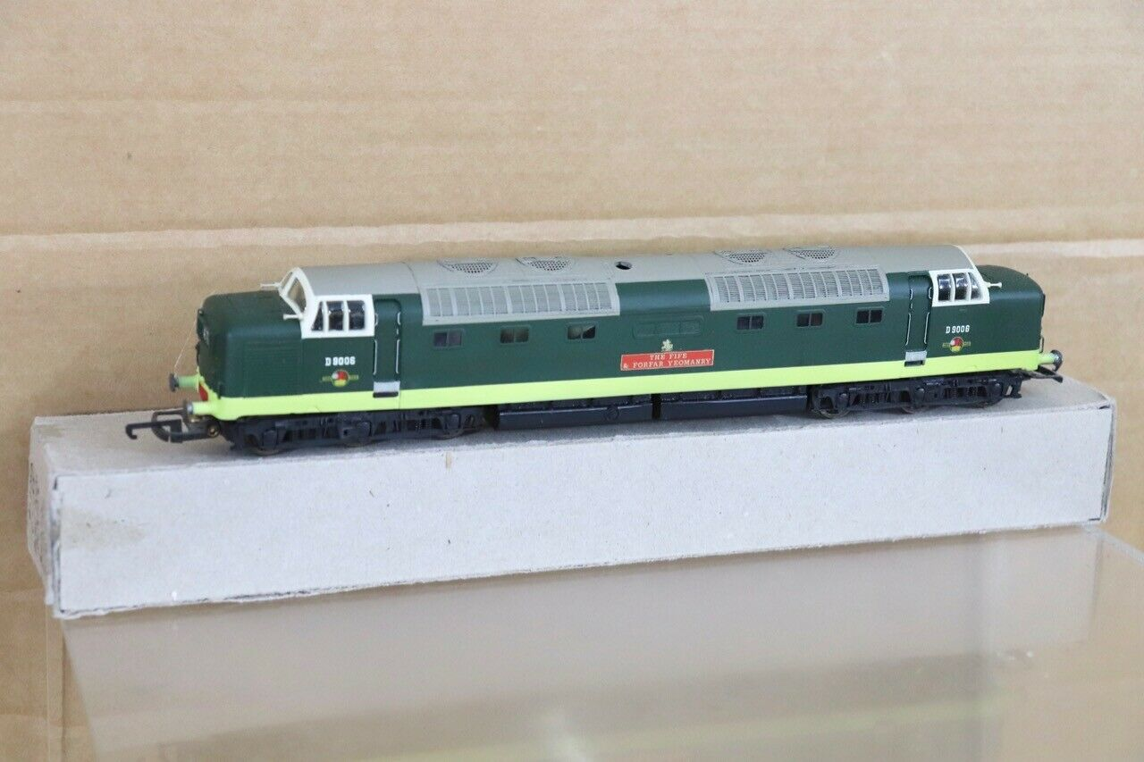 LIMA RE PAINTED BR CLASS 55 DELTIC LOCO D9006 The FIFE & FORFAR YEOMANRY nt
