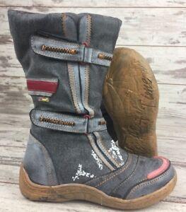TMA-Damen-Leder-Winter-Stiefel-Gefuettert-Gr-36-42-NEU-14411-alle-Farben