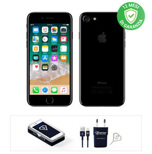 Apple iPhone 7 256GB Jet Black Ricondizionato Garanzia 12 Mesi
