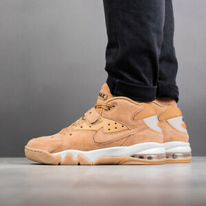Details about Nike Air Force Max PRM CB 1 Barkley 315065 200 Flax Wheat Gum Brown Mens 9 Shoes