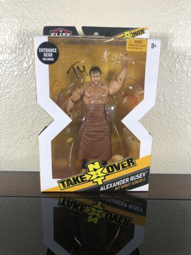 Mattel WWE Wrestling Elite NXT Takeover Alexander Rusev Action Figure 8879616028